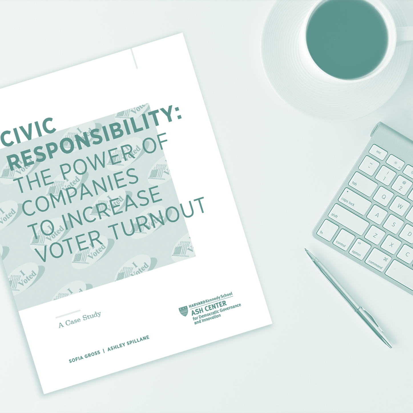 HARVARD ASH CENTER CIVIC RESPONSIBILITY CASE STUDY: THE POWER OF COMPANIES TO INCREASE VOTER TURNOUT